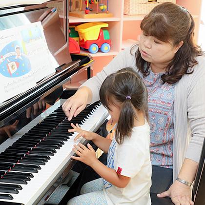 ピアノの様子